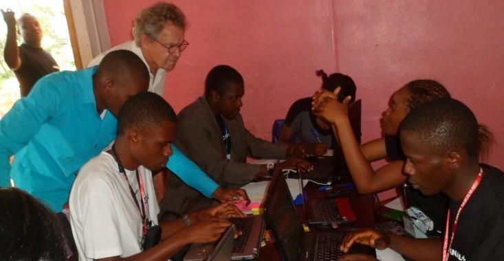 Un espace de coworking pour les entrepreneurs de Yaoundé.
