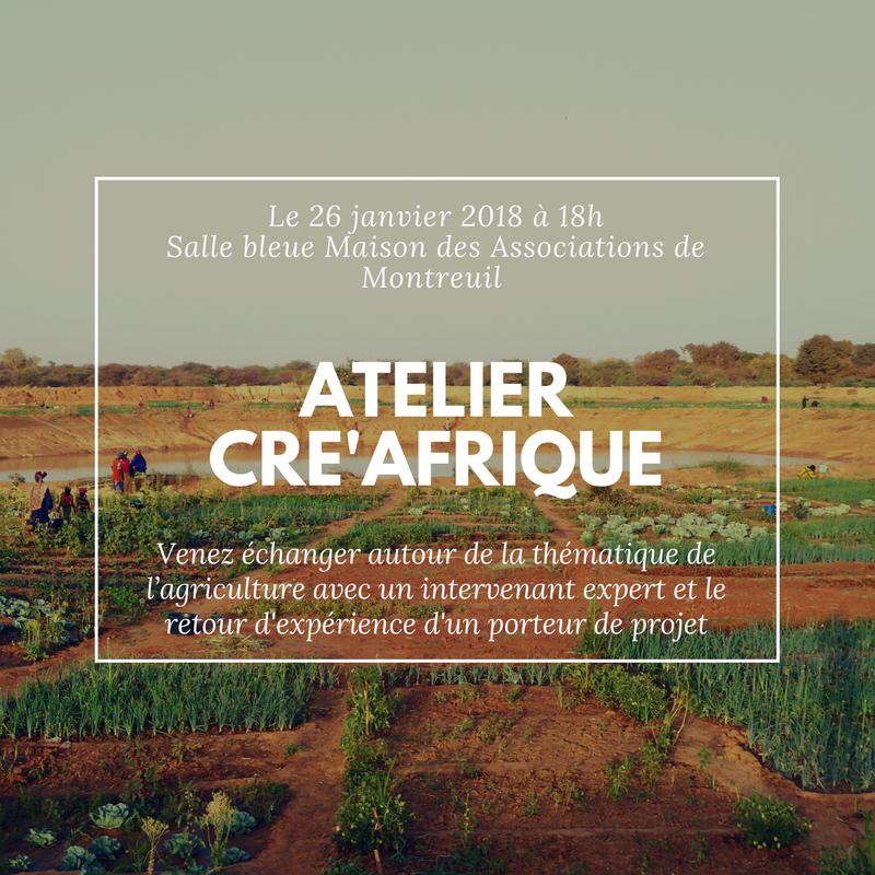 Cré'Afrique - Visuel Atelier Thématique 1