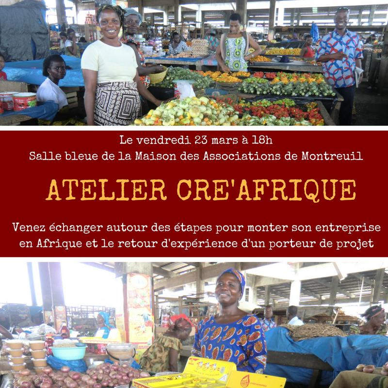 Cré'Afrique - Visuel Atel Thmq 2